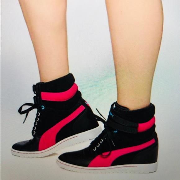 Puma Sky Wedge Sneaker